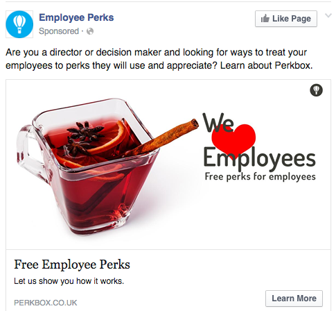 employee-perks-social-remarketing